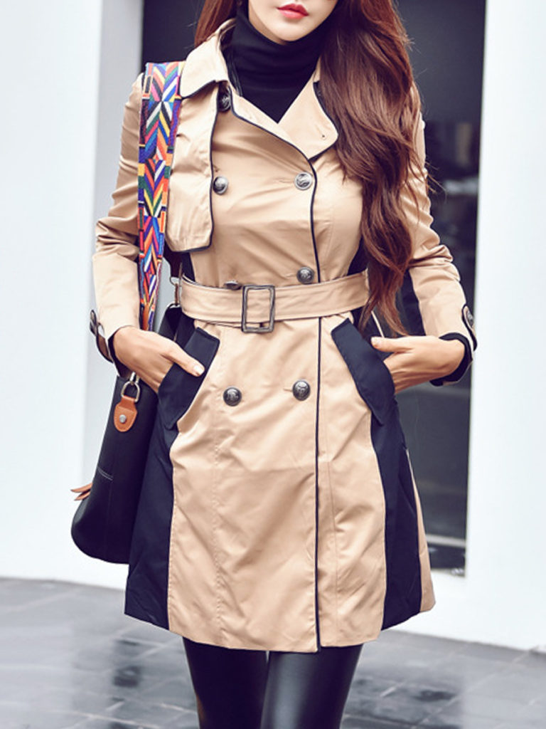 Long Sleeve Trench Coats