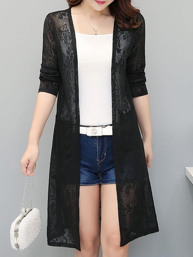Patchwork Lace Cardigans