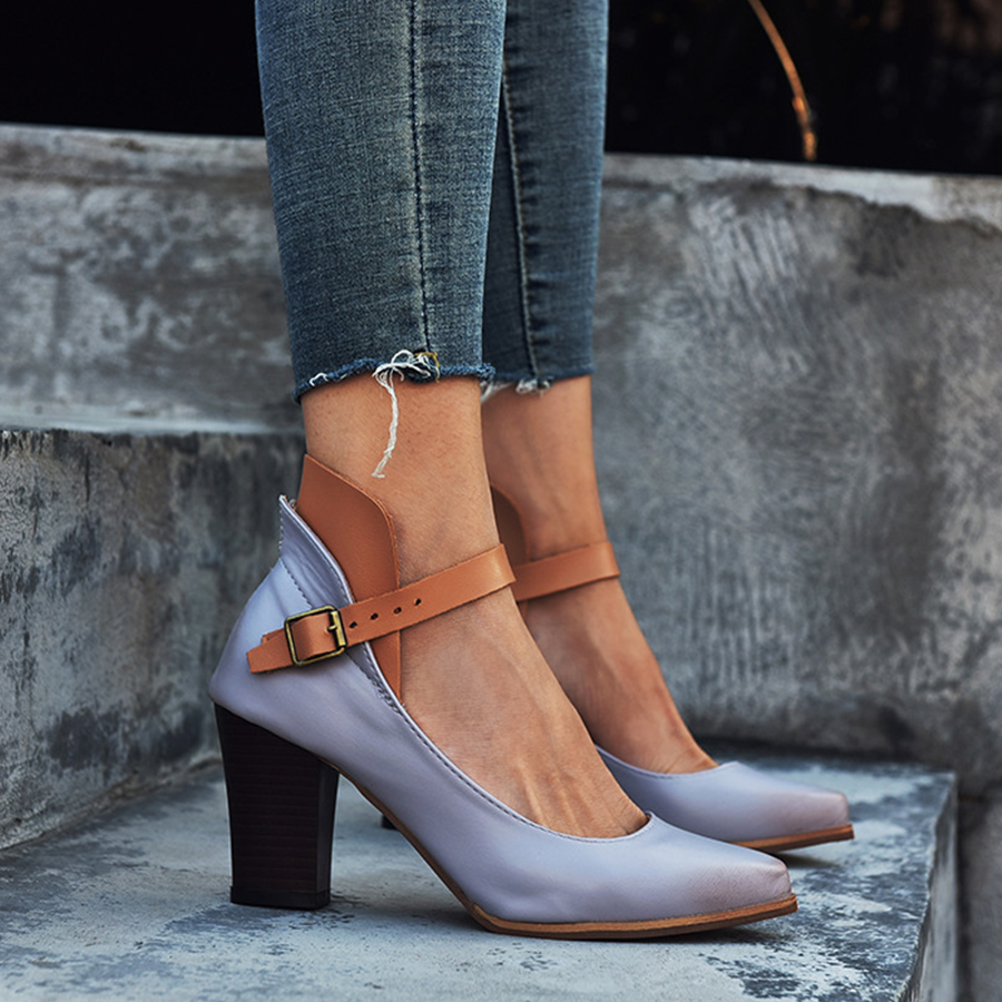 Point Toe Date Pumps