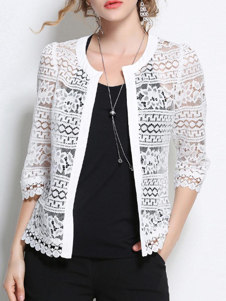 Patchwork Elegant Lace Cardigans