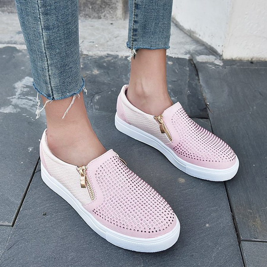 Women's Casual Snake Pattern Sneakers