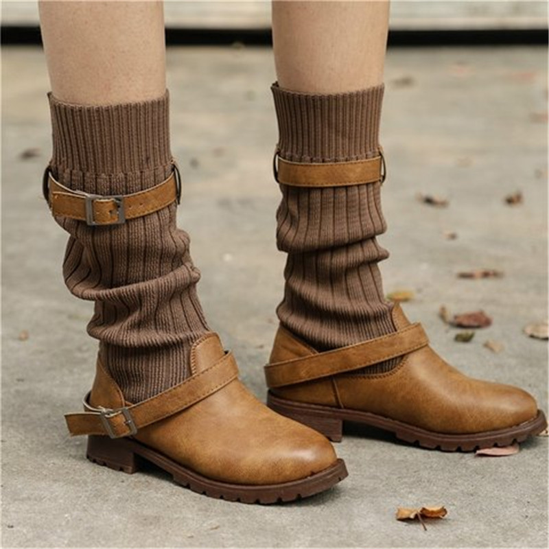 Women's Vintage Wool high boots
