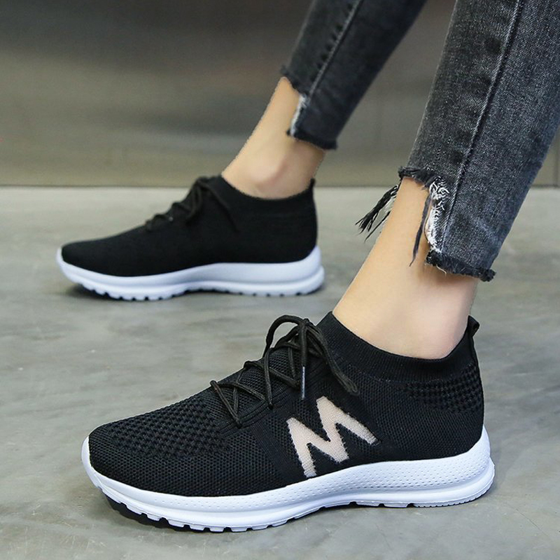 Fashion flying women sneakers