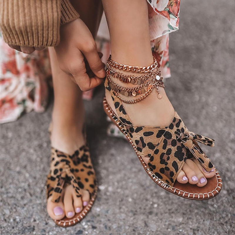 Womens Comfortable Flat Sandals
